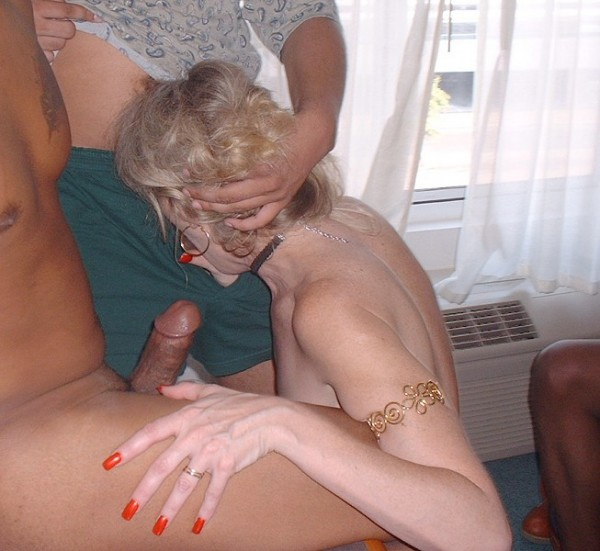 Are naughty wives interracial